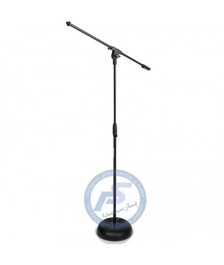 پایه میکروفون ایستاده کف چدنی DynaPro