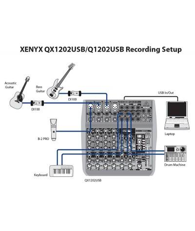 میکسر Behringer – QX1202USB
