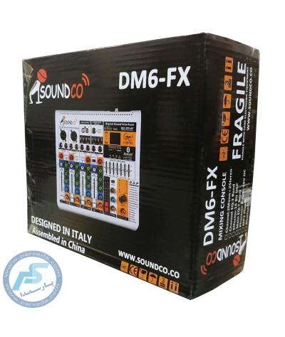 میکسر SOUNDCO – DM6 FX