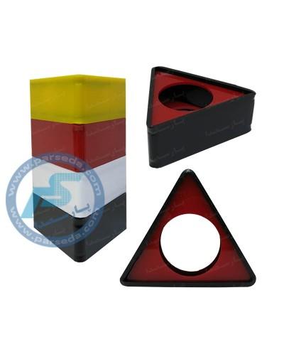 لوگو میکروفون مثلثی 6cm