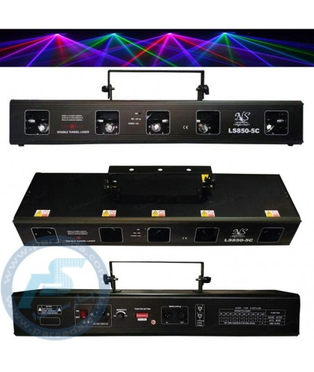 لیزر 5 کانال خطی NightStar - LS850