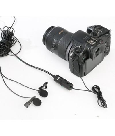 میکروفن دو یقه ای BOYA - M1DM