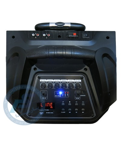 باند پرتابل شارژی 12 اینچ DJ – SMART NEW