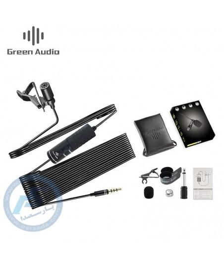 میکروفن یقه ای موبایل Green Audio - MB-Q01