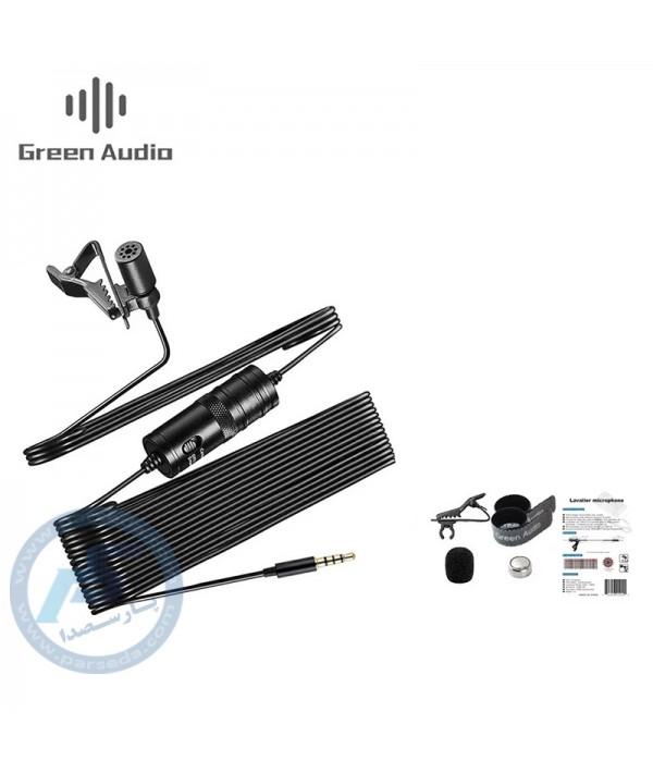 میکروفن یقه ای موبایل Green Audio - MB-Q02