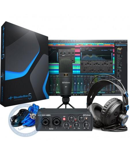 پکیج استودیویی PreSonus مدل AudioBox 96 Studio - 25th Anniversary