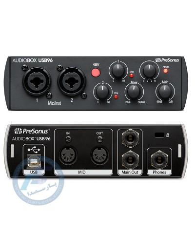 پکیج استودیویی PreSonus مدل AudioBox 96 Studio - 25th edition