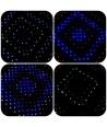 پرده LED 2x3 طرح لوزی 384*5mmLED