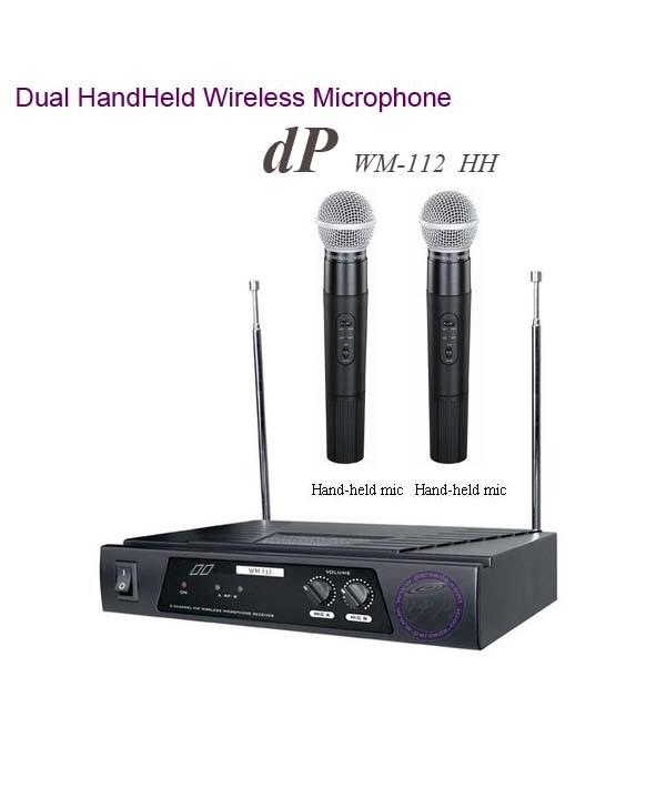 میکروفون وایرلس dP مدل  WM112 HH