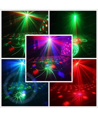 رقص نور 2 کاره مجیک بال لیزر ریموت دار