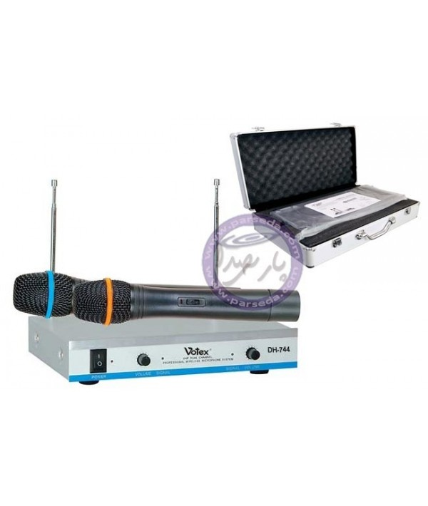 میکروفون وایرلس VOTEX-DH744