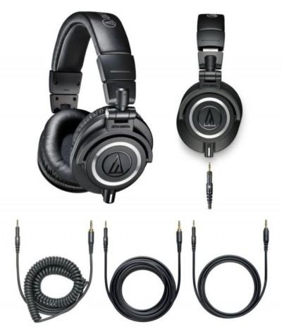 آنباکس هدفون audio technica ath m50x