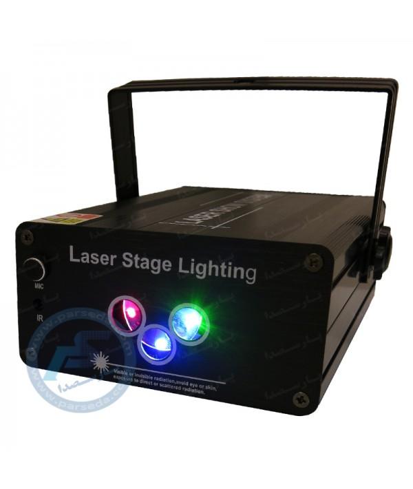 لیزر شکل ساز سه دهنه