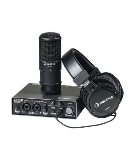 پکیج استودیویی Steinberg UR22C Recording Pack