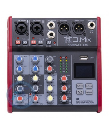میکسر 4 کانال D.MIX - 4XU