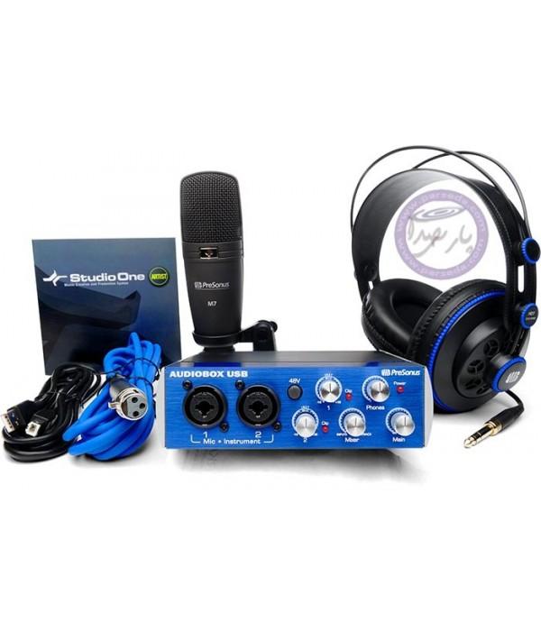 پکیج استودیوییPresonus - AudioBox 