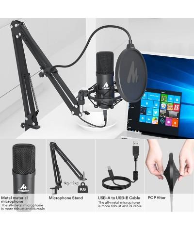 میکروفن USB استودیویی MAONO - AU A04 KIT