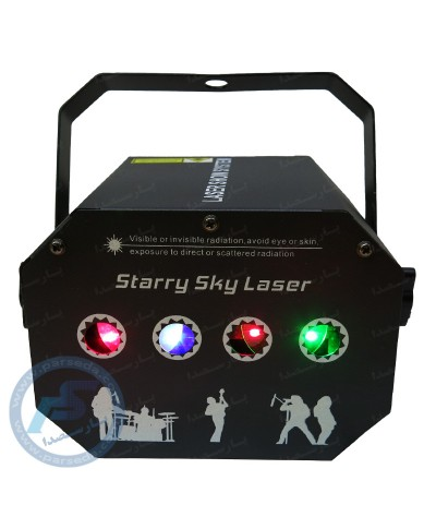 لیزر چهار لنز کهکشانی STARRY SKY