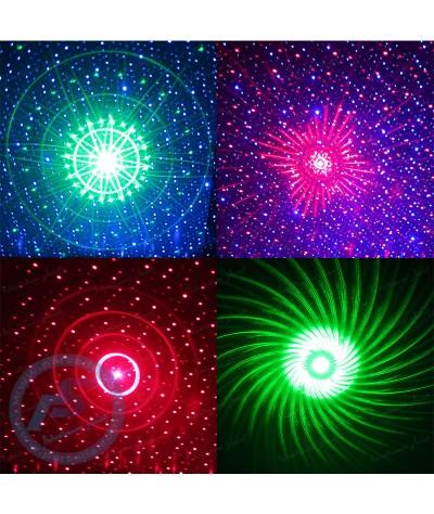 لیزر کهکشانی ماه و ستاره
