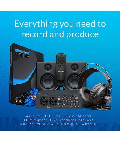 پکیج استودیویی PreSonus AudioBox 96 Ultimate 25th
