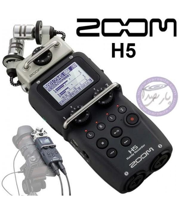 رکوردر دستی ZOOM H5