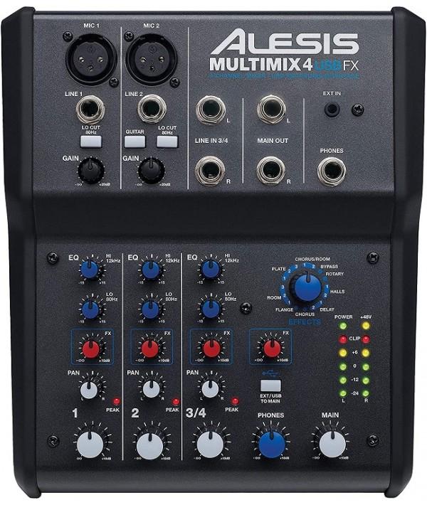 میکسر Alesis MultiMix 4 USB FX