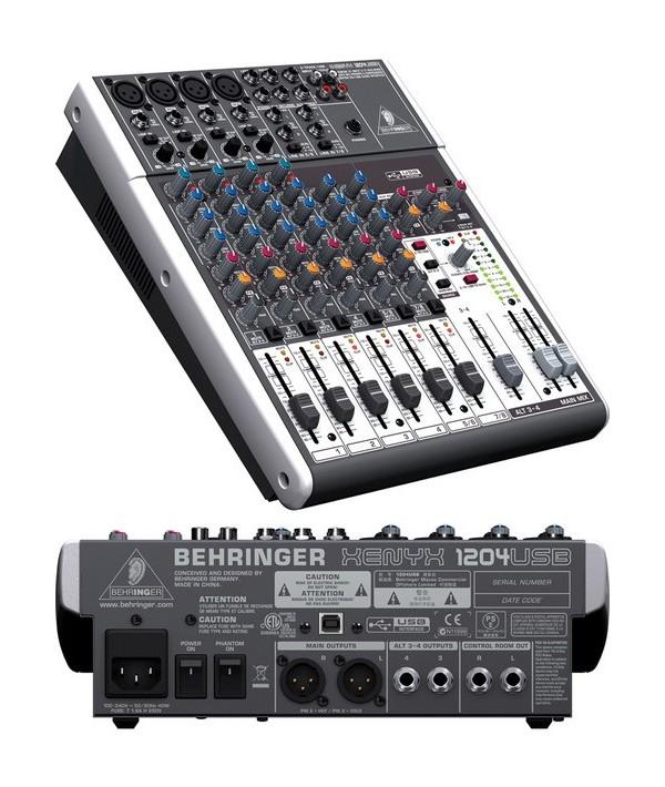 میکسر Behringer - XENYX 1204 USB