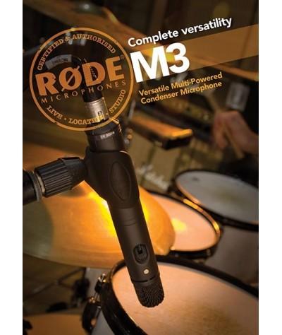 میکروفون اینسترومنت RODE – M3