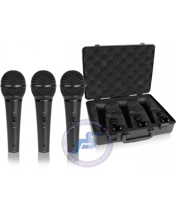 پک 3 تای میکروفون Behringer – XM1800S